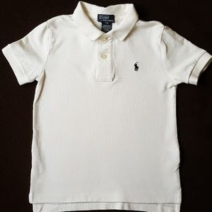 Polo Ralph Lauren White Polo